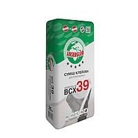Клей для приклейки пенополистирола и жестких минераловатных плит ANSERGLOB BCX 39  25кг