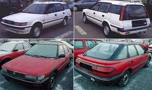 Зеркала для Toyota Corolla 1988-92
