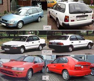 Зеркала для Toyota Corolla 1992-97
