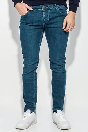 Джинсы мужские прямые модные 421F005-4 (Синий), фото 2