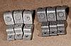 Контакты КТ 6033БС медные с серебряными напайками  (комплект 9 шт)