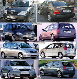 Зеркала для Toyota Corolla 2002-04