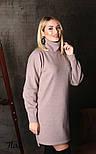 Женское прямое платье из шерсти (4 цвета), фото 2