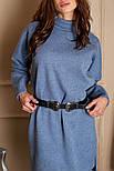 Женское прямое платье из шерсти (4 цвета), фото 5