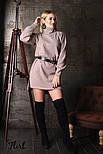 Женское прямое платье из шерсти (4 цвета), фото 7