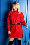 Женское прямое платье из шерсти (4 цвета), фото 8