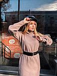 Женское прямое платье из шерсти (4 цвета), фото 9