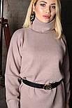 Женское прямое платье из шерсти (4 цвета), фото 10