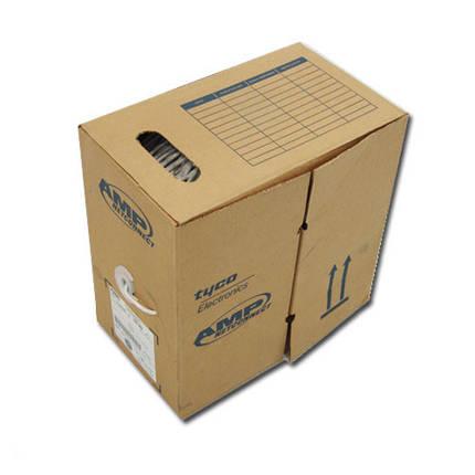 Кабель Витая Пара 4х2х0,51 AMP NETCONNECT (UTP-cat.5E) 4 пары 0,51 мм. 57535-2 Медный PVC (ПВХ) Любой Метраж!, фото 2