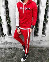 Мужской спортивный костюм ( красный )