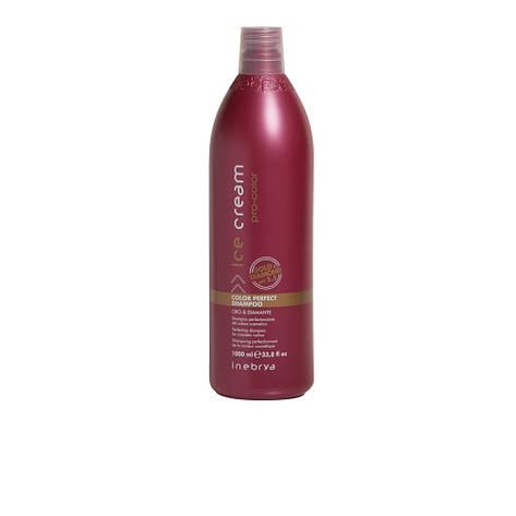 Идеальный шампунь для окрашенных волос Color Perfect Shampoo 1000 мл  Inebrya, фото 2