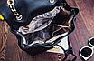 Рюкзак женский трансформер кожзам в стиле Charmy Черный, фото 8