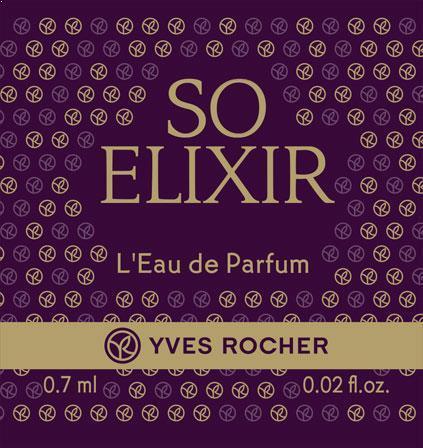 """Парфюмерная вода """"So Elixir"""" от Ив Роше"""