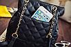 Рюкзак женский трансформер кожзам в стиле Charmy Черный, фото 7