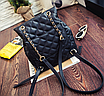 Рюкзак женский трансформер кожзам в стиле Charmy Черный, фото 6