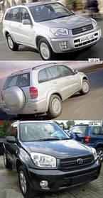Зеркала для Toyota RAV4 2001-06