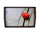 Піднос подушка Червоне Серце, фото 2
