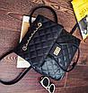Рюкзак женский трансформер кожзам в стиле Charmy Черный, фото 4