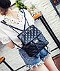 Рюкзак женский трансформер кожзам в стиле Charmy Черный, фото 3