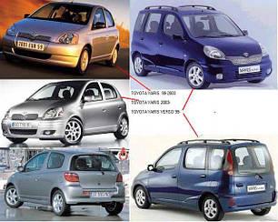Зеркала для Toyota Yaris 1999-06
