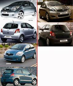 Зеркала для Toyota Yaris 2006-11 HB
