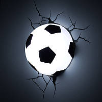 3D cветильник ночник Football Light футбольный мяч