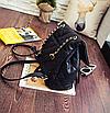 Рюкзак женский трансформер кожзам в стиле Charmy Черный, фото 5