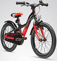 """Детский велосипед S'Cool XXlite 18"""" красный/черный"""
