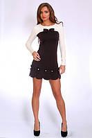 Красивое женское трикотажное платье