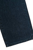 Джинсы мужские потертые 239V002 (Темно-синий), фото 2
