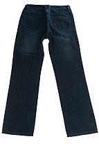 Джинсы мужские потертые 239V002 (Темно-синий), фото 3