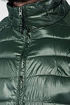 Куртка мужская демисезон 191V005 (Темно-зеленый), фото 2