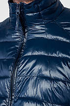 Куртка мужская демисезон 191V005 (Темно-синий), фото 3