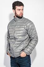 Куртка мужская демисезон 191V005 (Серый), фото 2