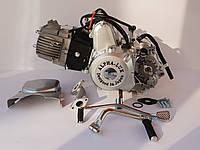 Двигатель полу -автомат 110 см3 на Дельту, Альфу, Актив