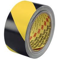 3M™  Односторонняя клейкая лента  50мм х 33м, желто-черная