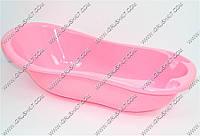Ванночка детская большая розовая 99см