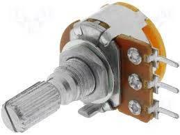 Потенциометр моно R16110N-B100K L=20mm