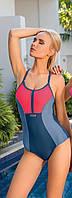 Купальник женский трехцветный Self для бассейна и водного спорта, фото 1