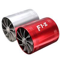 Воздухозаборник нагнетателя с двумя вентиляторами Turbo натора газовое топливо заставки Turboуниверсальный автомобиль 1TopShop