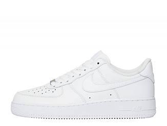 Оригинальные Кроссовки Nike Air Force 1 Low  All White 314192-117
