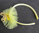 Обручи для волос детские с фатином Микки 12 шт/уп, фото 6