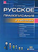 Русское правописание  в таблицах. Шевелева Л.А., фото 1