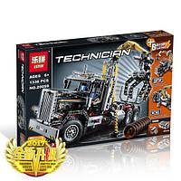 """Конструктор Lepin 20059 """"Грузовой Лесопогрузчик"""" (аналог Lego Technic 9397), 1338 дет"""