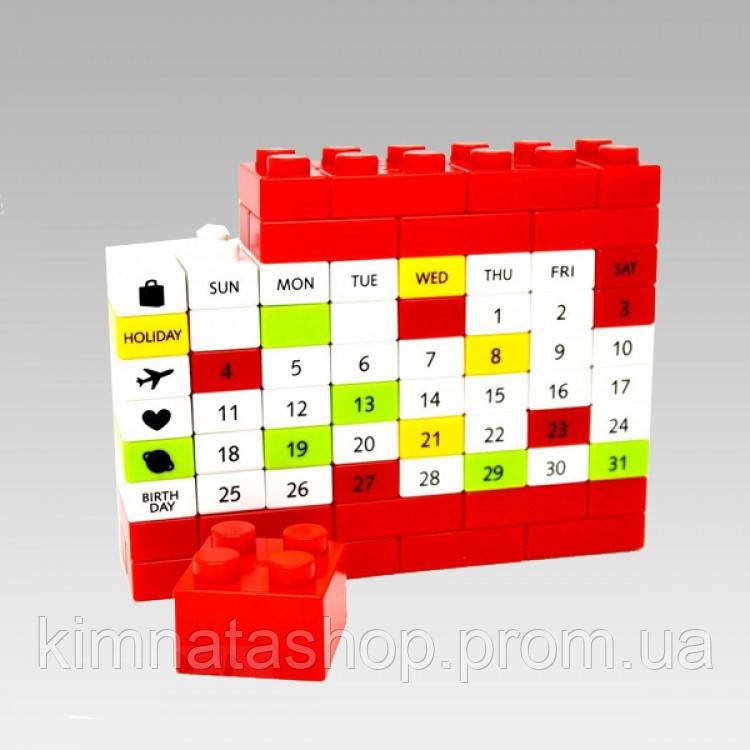 Вічний Календар PUZZLE Red