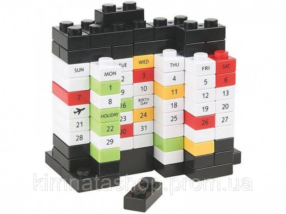Вічний Календар PUZZLE Black