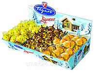Цукерки шоколадні з лікером зі смаками (шоколаду / банана / авокадо) Figaro