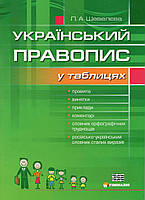 Український правопис у таблицях. Шевелєва Л.А., фото 1