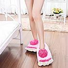 Тапочки ноги первісної людини pink, фото 3