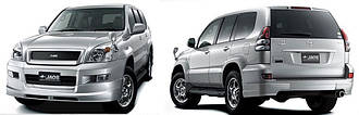 Тюнинг обвес накладки бампера Toyota Land Cruiser LC Prado 120 стиль JAOS